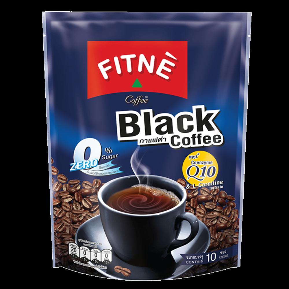 Picture of TH Black Coffee Mix Coenzyme Q10 - Zero Sugar