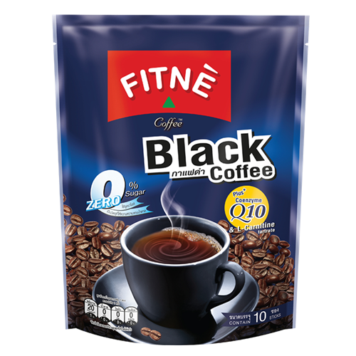 Picture of TH Black Coffee Mix Coenzyme Q10 - Zero Sugar
