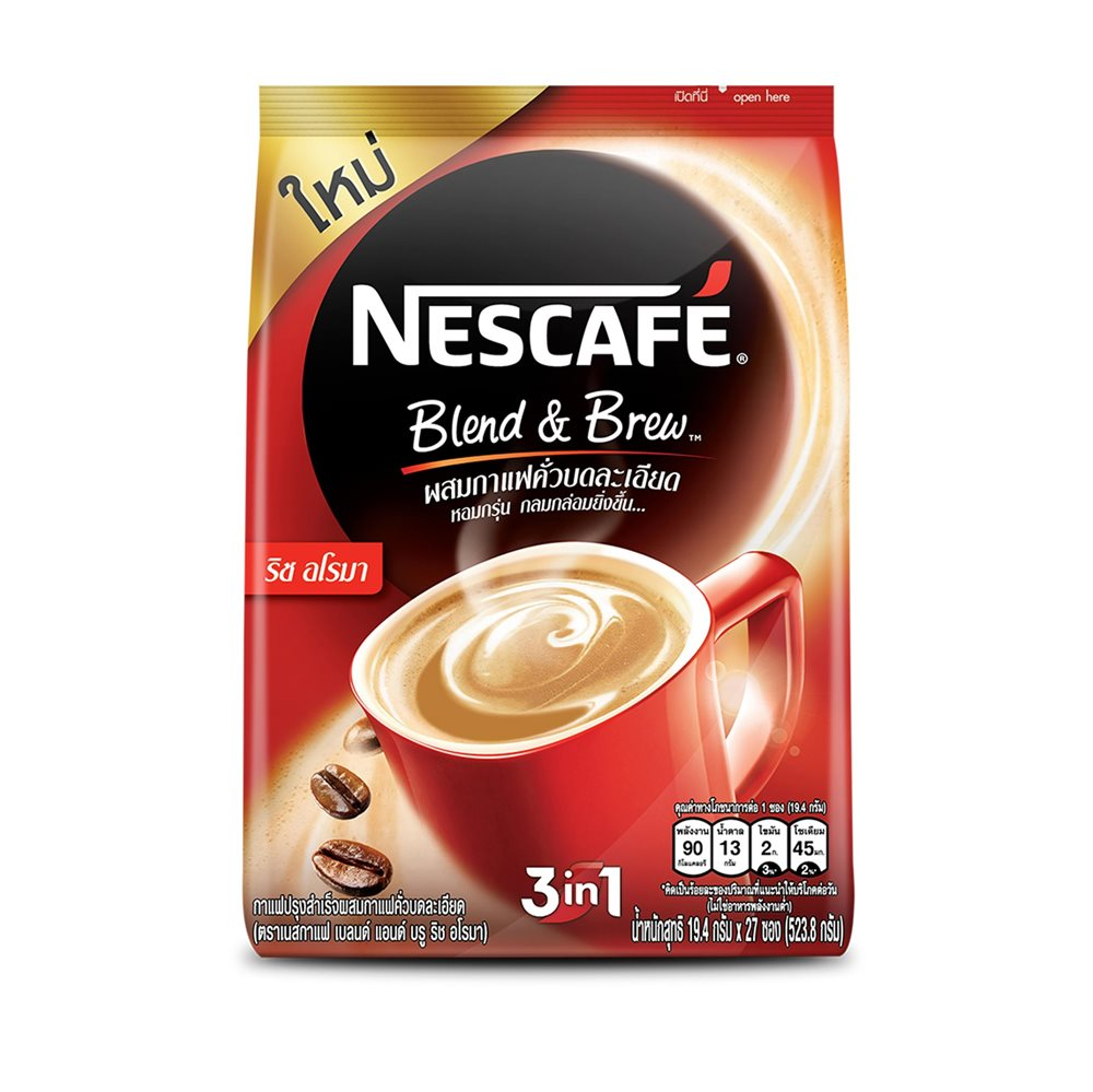 Picture of TH Nescafé Red Rich Aroma Coffee Mix Powder 3 in 1