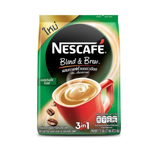 Picture of TH Nescafé Green Expresso Roast Coffee Mix 3 in 1