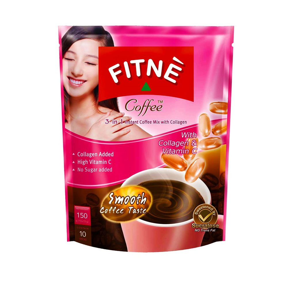 Picture of TH Fitné Diet Coffee 3 in 1 with Collagen & Vit. C