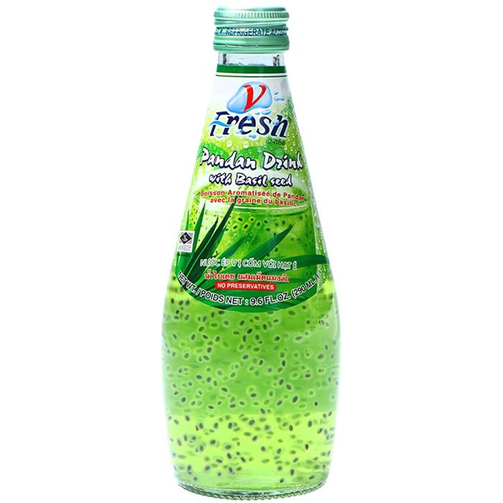 Picture of TH Pandan Drink with Basil Seed
