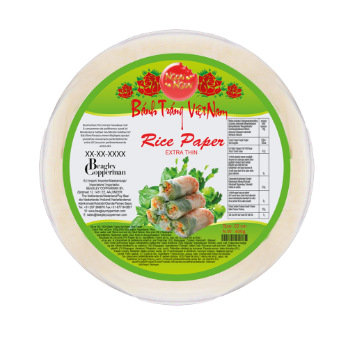 Picture of VN Rice Paper - Bánh Tráng Extra Thin 22cm PVC