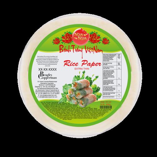 Picture of VN Rice Paper - Bánh Tráng Extra Thin 22cm PVC