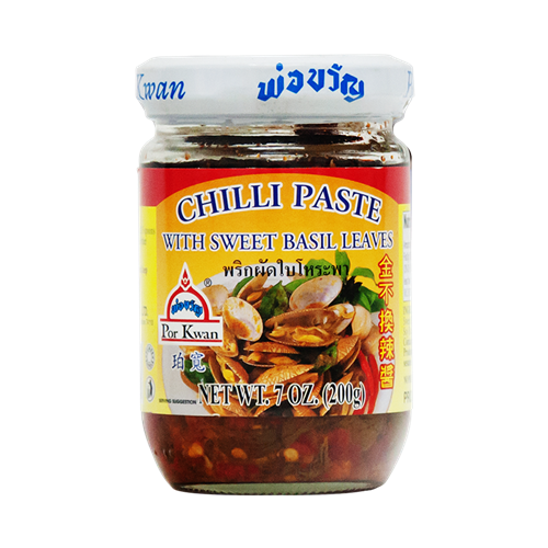 Picture of TH Chilli Paste with Sweet Basil Leaves