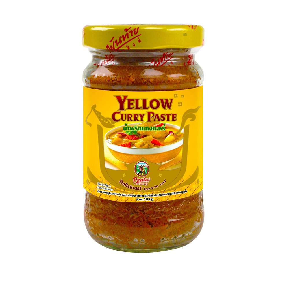 Picture of TH Yellow Curry Paste (Glass Jar)