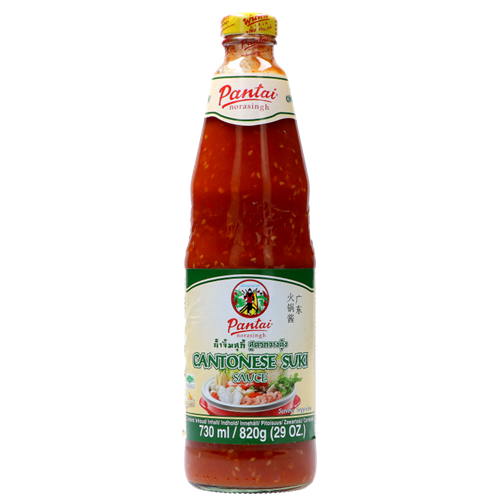 Picture of TH Cantonese Suki Sauce in Glass Bottle