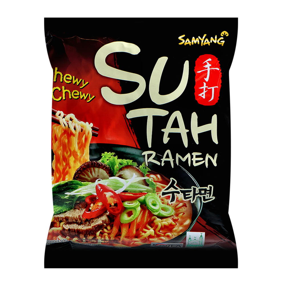 Picture of KR Inst. Noodle Sutah Hot & Spicy Beef Flavor