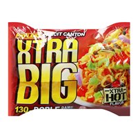 Picture of PH Instant Pancit Canton Hot Chili Extra Big