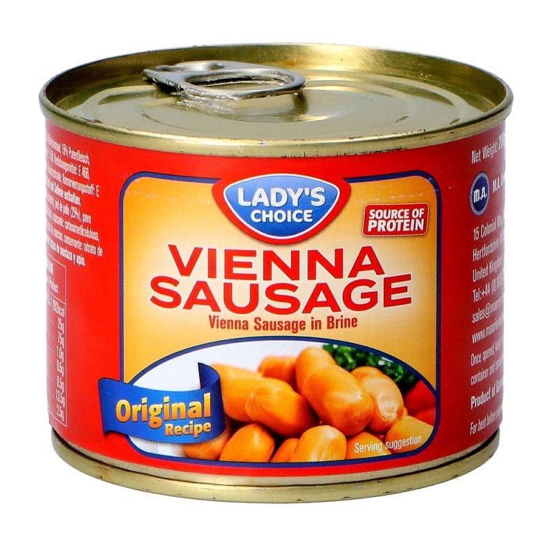 De Vienna Sausage Chicken Halal Beagley Copperman