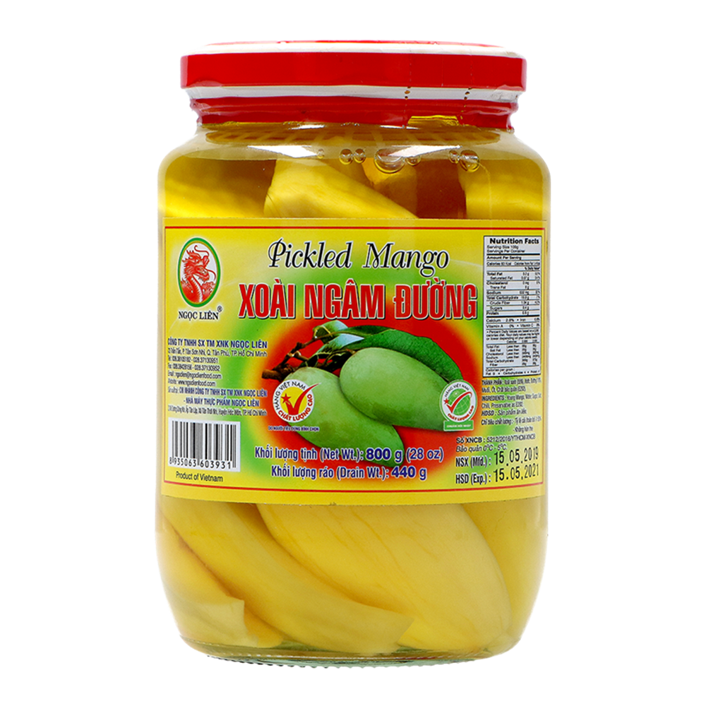 Picture of VN Pickled Young Mango - xoai dam duong