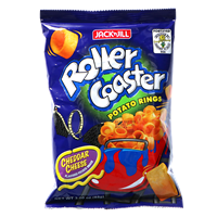 Picture of PH Potato Rings Chips Roller Coaster Cheddar Chees
