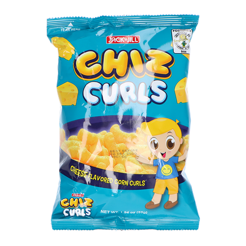 Picture of PH Chiz Curls Cheese Corn Curls