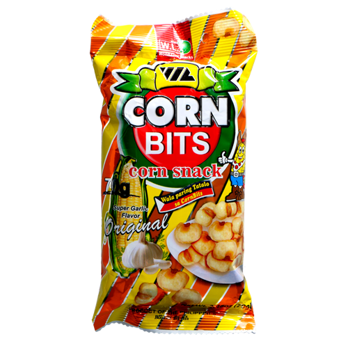 Picture of PH Corn Bits - Original Super Garlic Flavor