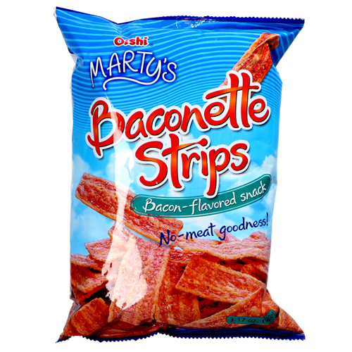 Picture of PH Marty's Baconette Strips - Bacon Flavored
