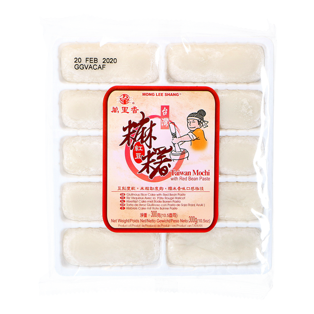Picture of TW Glut. Rice Cake with Red Bean Paste