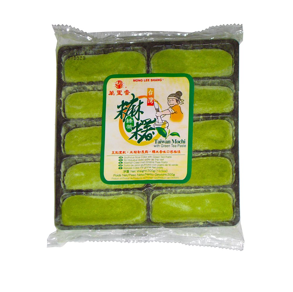 Picture of TW Glut.Rice Cake with Green Tea Paste
