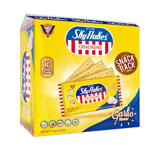 Picture of PH Sky Flakes Crackers - Garlic Snack Pack