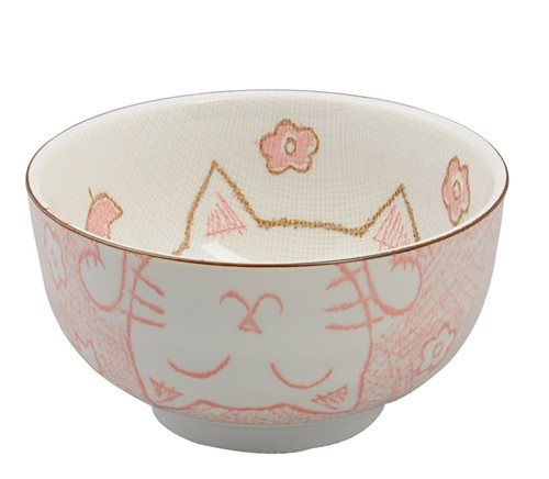 Picture of JP Cat Bowl Pink 12.7x7cm