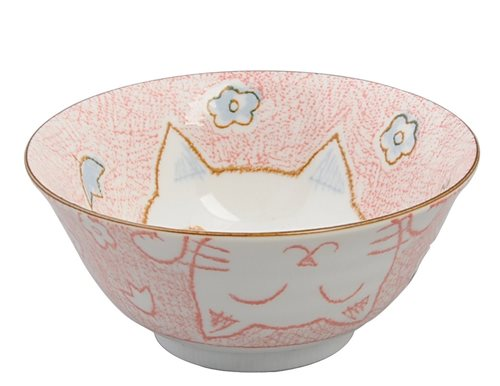 Picture of JP Cat Bowl Pink 15.3x8cm