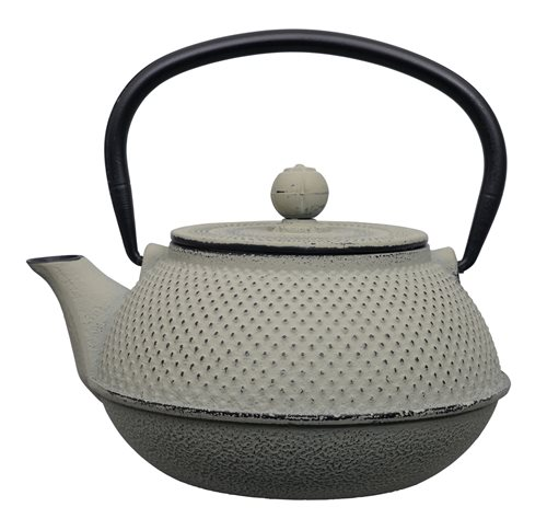 Picture of CN Arare Tea Kettle Iron Grey 17.5x15x10cm 0.8ltr.
