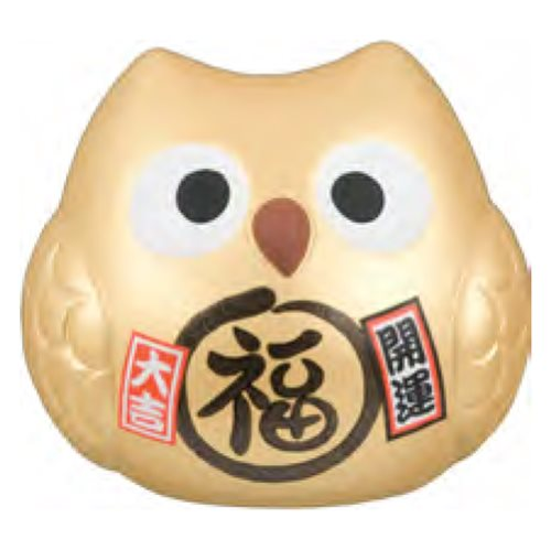 Picture of JP Owl Gold (Better Fortune) 10cm