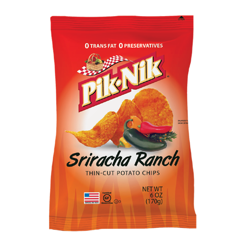 Picture of US Thin Cut Potato Chips Sriracha Ranch