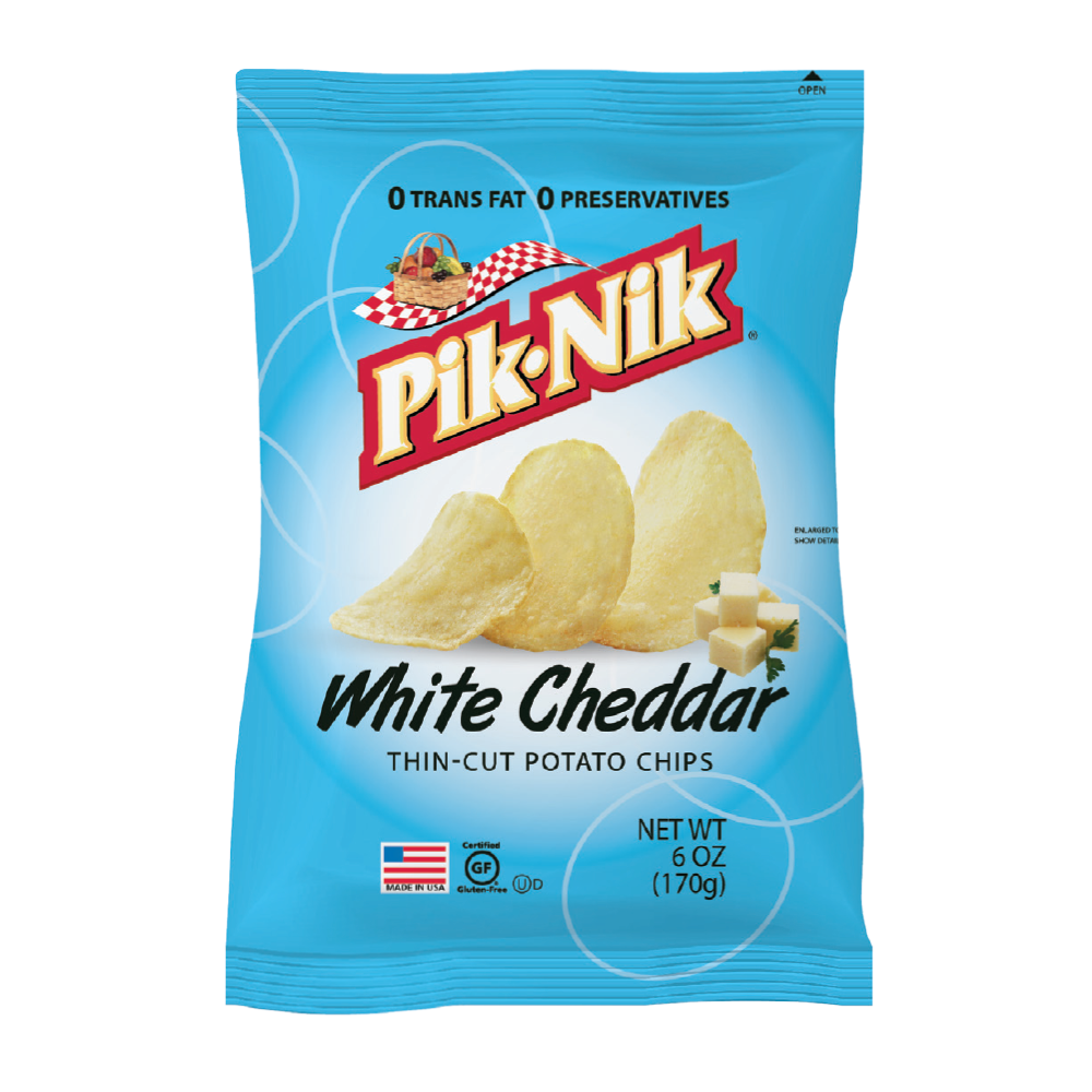 Picture of US Thin Cut Potato Chips White Cheddar