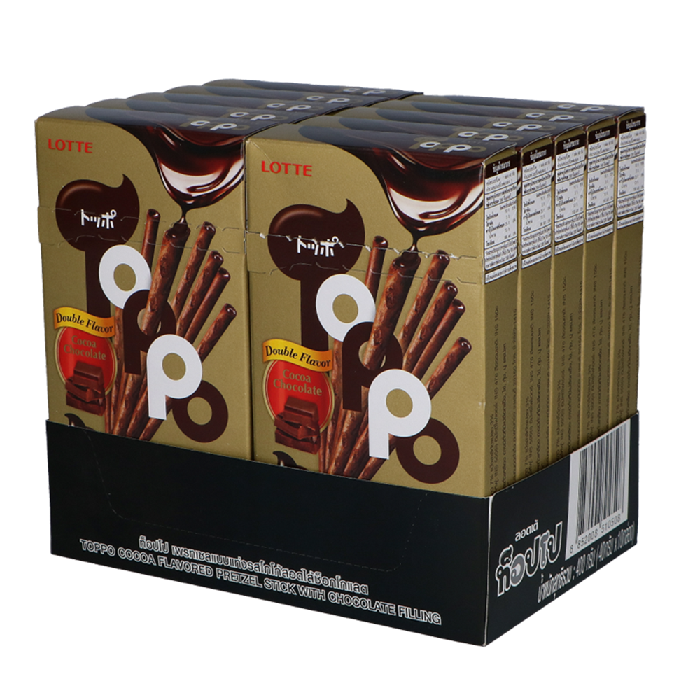 Picture of TH Toppo Double Chocolate Sticks