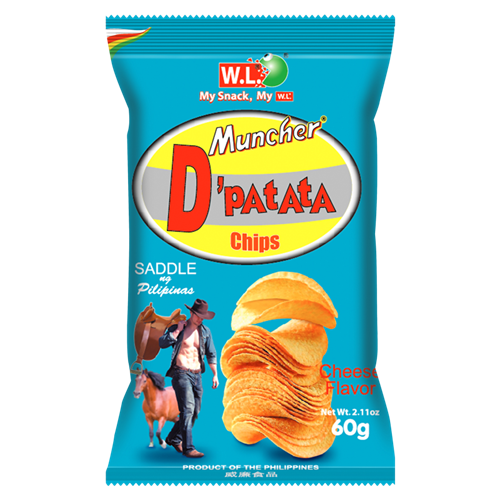 Picture of PH Muncher D'Patata Chips Cheese