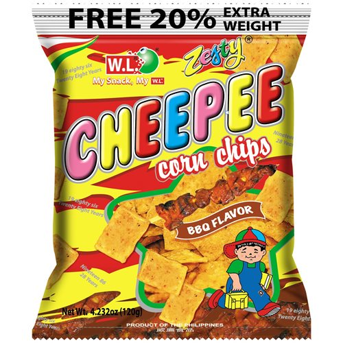 Picture of PH Cheepee Corn Chips - BBQ Flavor