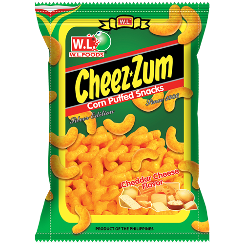 Picture of PH Cheez Zum Cheddar Cheese - Corn Puff
