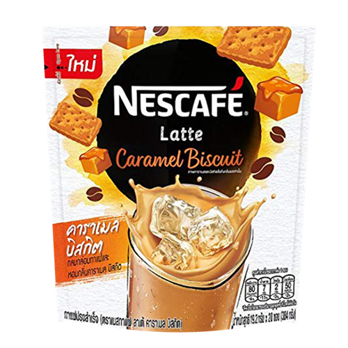 Picture of TH Nescafé Latte - Caramel Biscuit