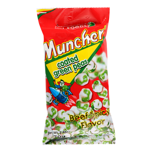 Picture of PH Muncher Coated Green Peas - Beef Spicy Flavor