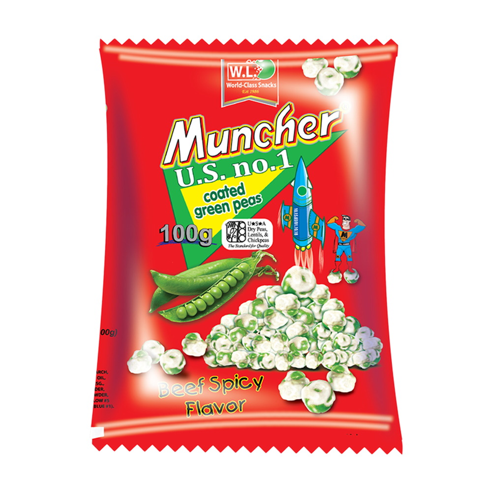 Picture of PH Muncher Coated G.Peas Beef Spicy Flavor