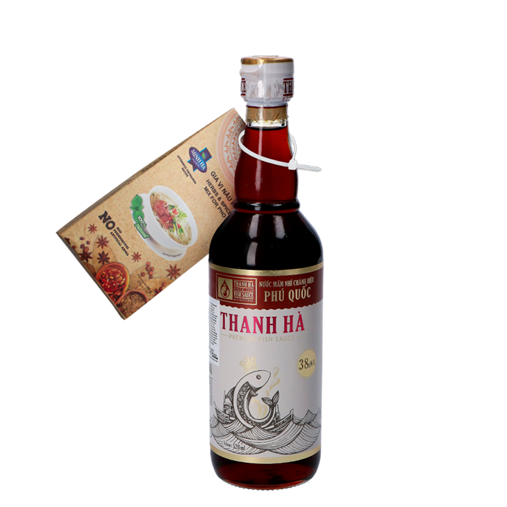 Picture of VN Fish Sauce 38N NuOc Mam + Promotional Article