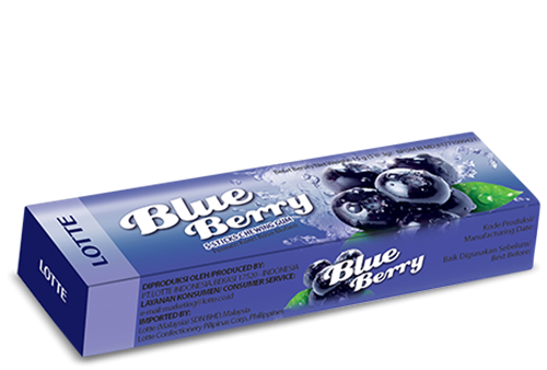 Picture of TH Stick Gums Blueberry