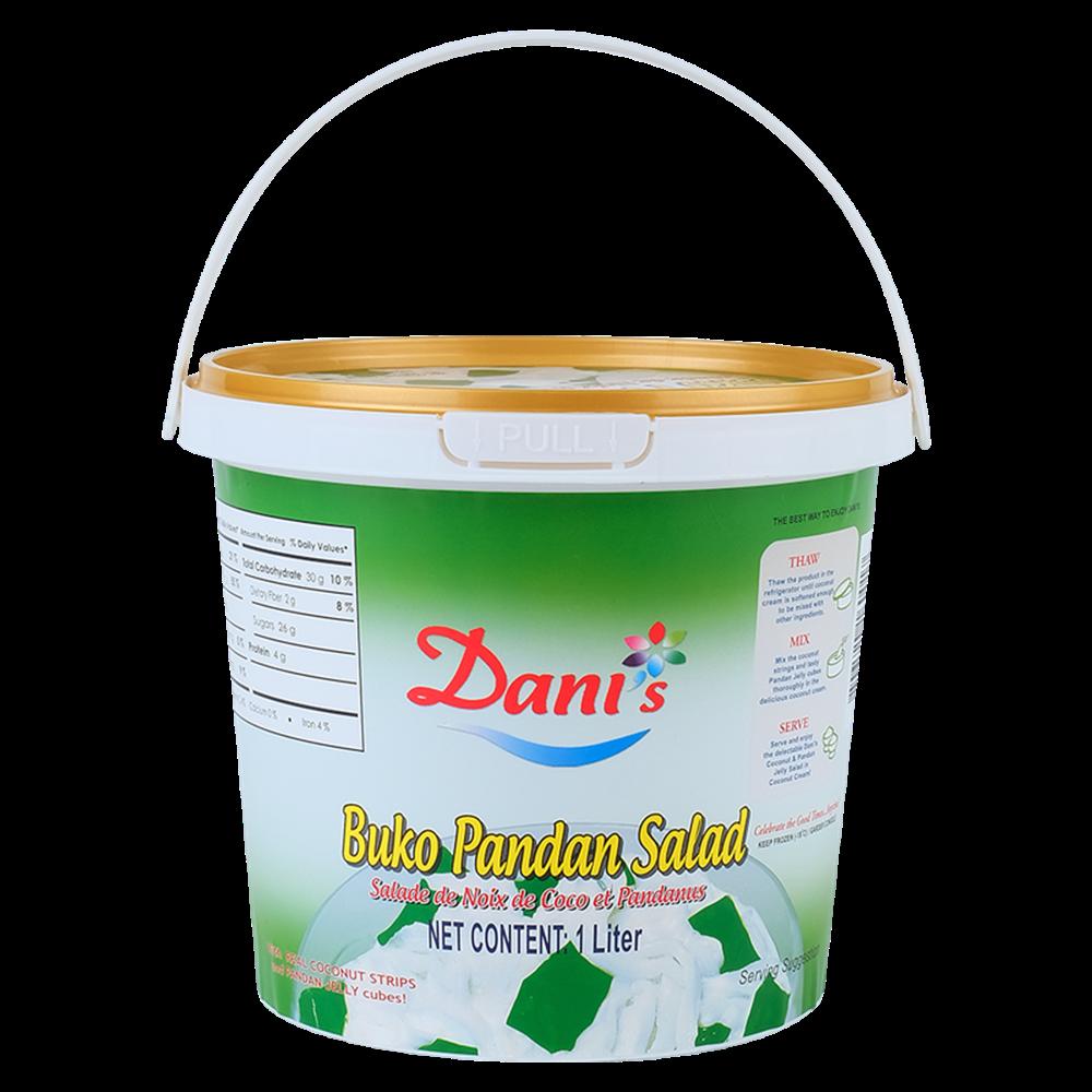Picture of PH Dani's Buko Pandan Salad - Storage -18°C