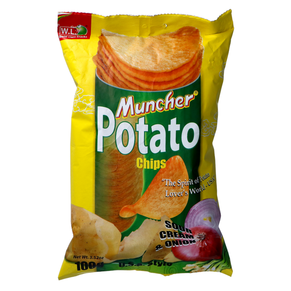 Picture of PH Muncher D'Patata Chips Sour & Cream