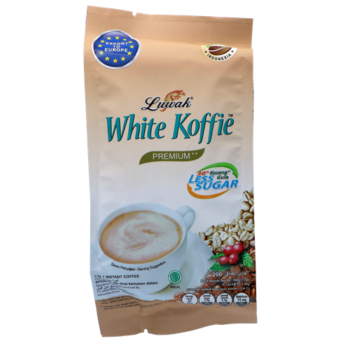 Picture of ID White Coffee 3 in 1 - Less Sugar