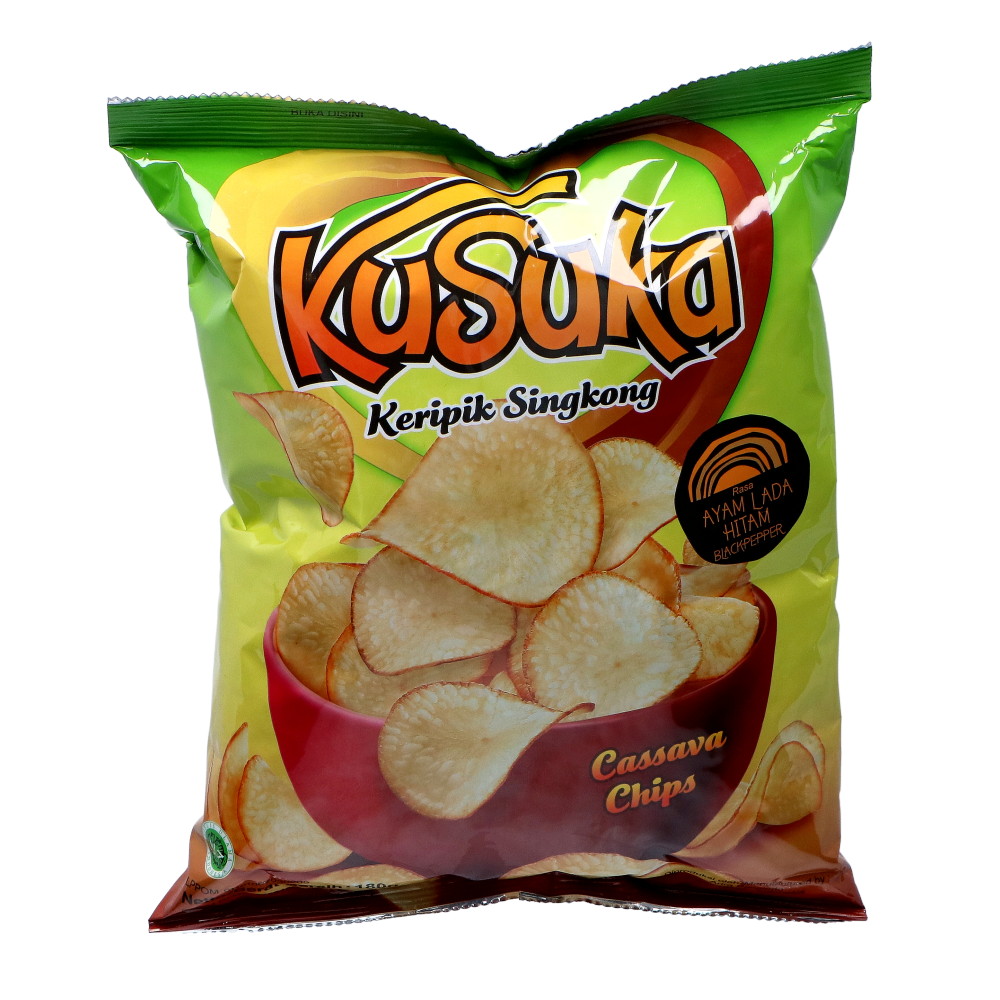 Picture of ID Cassava Chips - Black Pepper