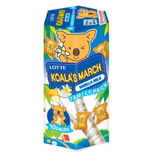 Picture of TH Koala's March Vanilla Milk Biscuit Family Pack