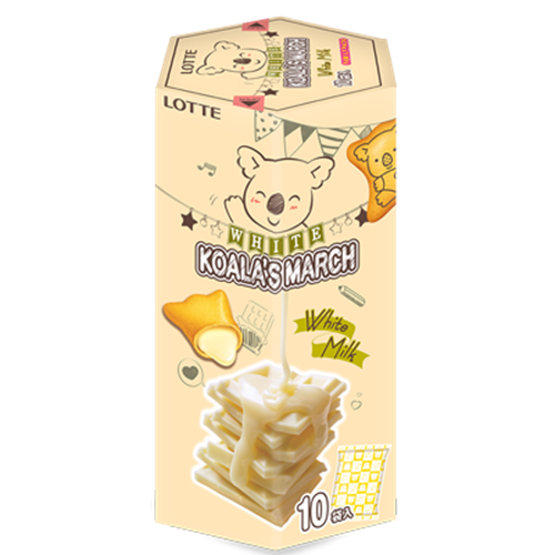 Picture of TH Koala's March White Milk Cream Bisc Family Pack