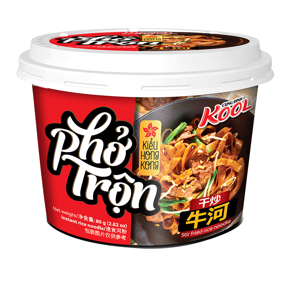 Picture of VN Inst Rice Noodles Kool Brand Soya Sauce Flav.