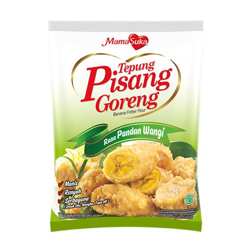Picture of ID Banana Fritter Flour - Pandan Flavour