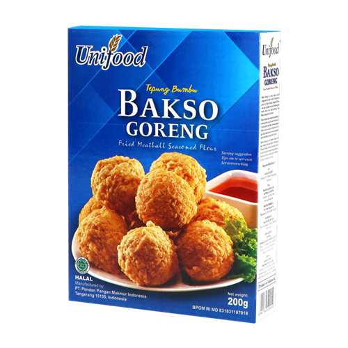 Picture of ID Fried Meatball Seasoned Flour - Bakso Goreng