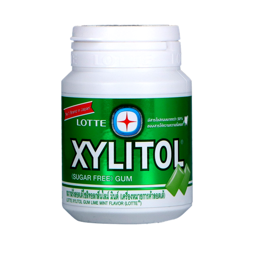 Picture of TH Xylitol Limemint Gum - Handy Bottle