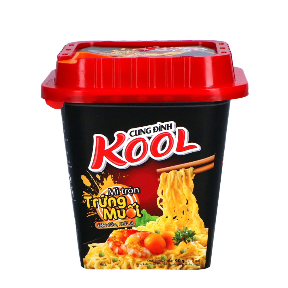 Picture of *VN Inst Noodles - Salted Egg Flav. - Square Pack