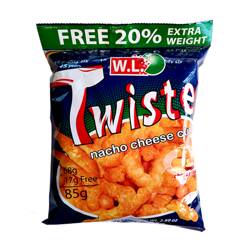 Picture of PH Twister Nacho Cheese Curls