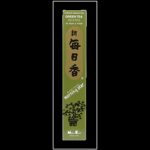 Picture of JP Morningstar Green Tea 50 Sticks & Holder